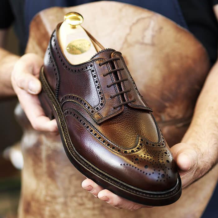 916c8e5215b7a Visit shoe factory shops in Northampton. Crockett & Jones